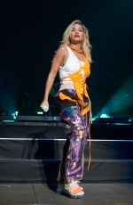 RITA ORA Performs at Henley Festival in Henley-on-Thames 07/11/2018