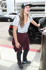 RONDA ROUSEY at LAX Airport in Los Angeles 07/09/2018