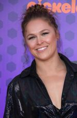 RONDA ROUSEY at Nickelodeon