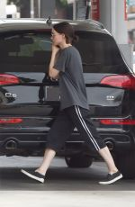 ROONEY MARA at a Gas Station in Sherman Oaks 07/10/2018