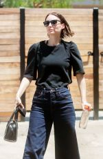 ROONEY MARA Leaves a Salon in Los Angeles 07/12/2018