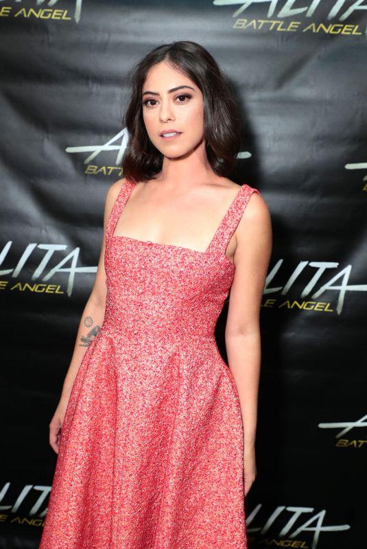 ROSA SALAZAR at Alita: Battle Angel Panel at Comic-con in San Diego 07/20/2018