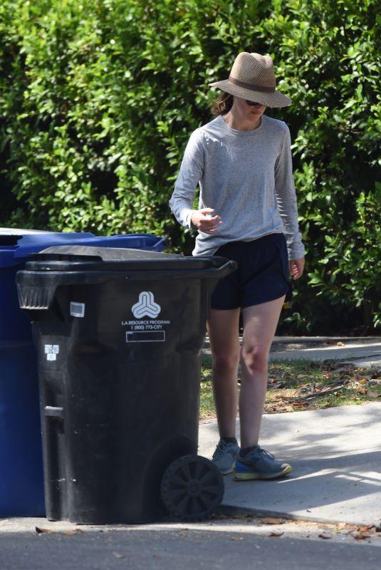 ROSE BYRNE at a Trash Bins in Los Angeles 07/12/2018