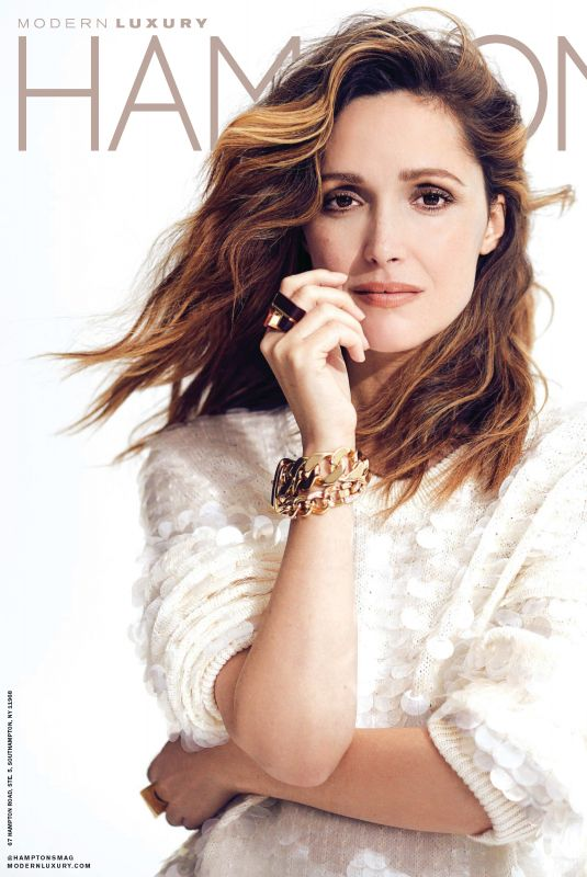 ROSE BYRNE in Hamptons Magazine, July 2018 Issue