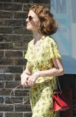 ROSE LESLIE Out and About in London 07/02/2018
