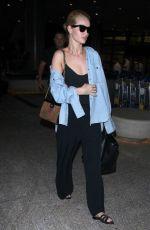 ROSIE HUNTINGTON-WHITELEY at Los Angeles International Airport 07/08/2018