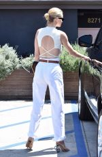 ROSIE HUNTINGTON-WHITELEY Leaves a Friend in Beverly Hills 07/11/2018
