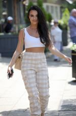 ROSIE WILLIAMS Out and About in Alderley Edge in Cheshire 07/07/2018