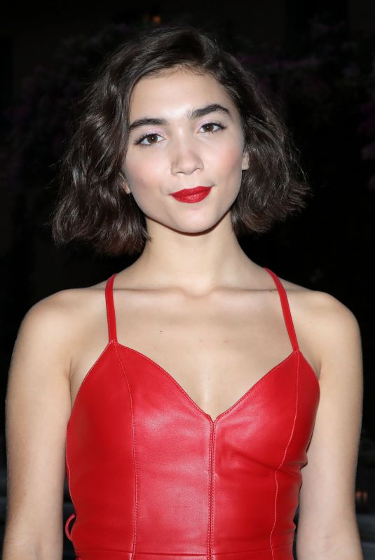 ROWAN BLANCHARD at The Muse by Alexa Chung Launch Party in Los Angeles 07/19/2018