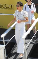 RUTH NEGGA Out at Comic-con in San Diego 07/20/2018