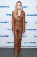 SABRINA CARPENTER at SiriusXM Radio in New York 07/26/2018