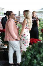 Salvatore Palella Asks the Hand of SAMANTHA HOOPES in Bulgari Hotel in Milan 07/08/2018