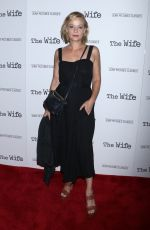 SAMANTHA MATHIS at The Wife Screening in New York 07/26/2018