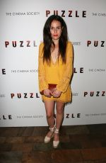 SAMANTHA MICHELLE at Puzzle Screening in New York 07/24/2018