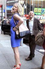 SARA HAINES Leaves Good Morning America in New York 07/11/2018