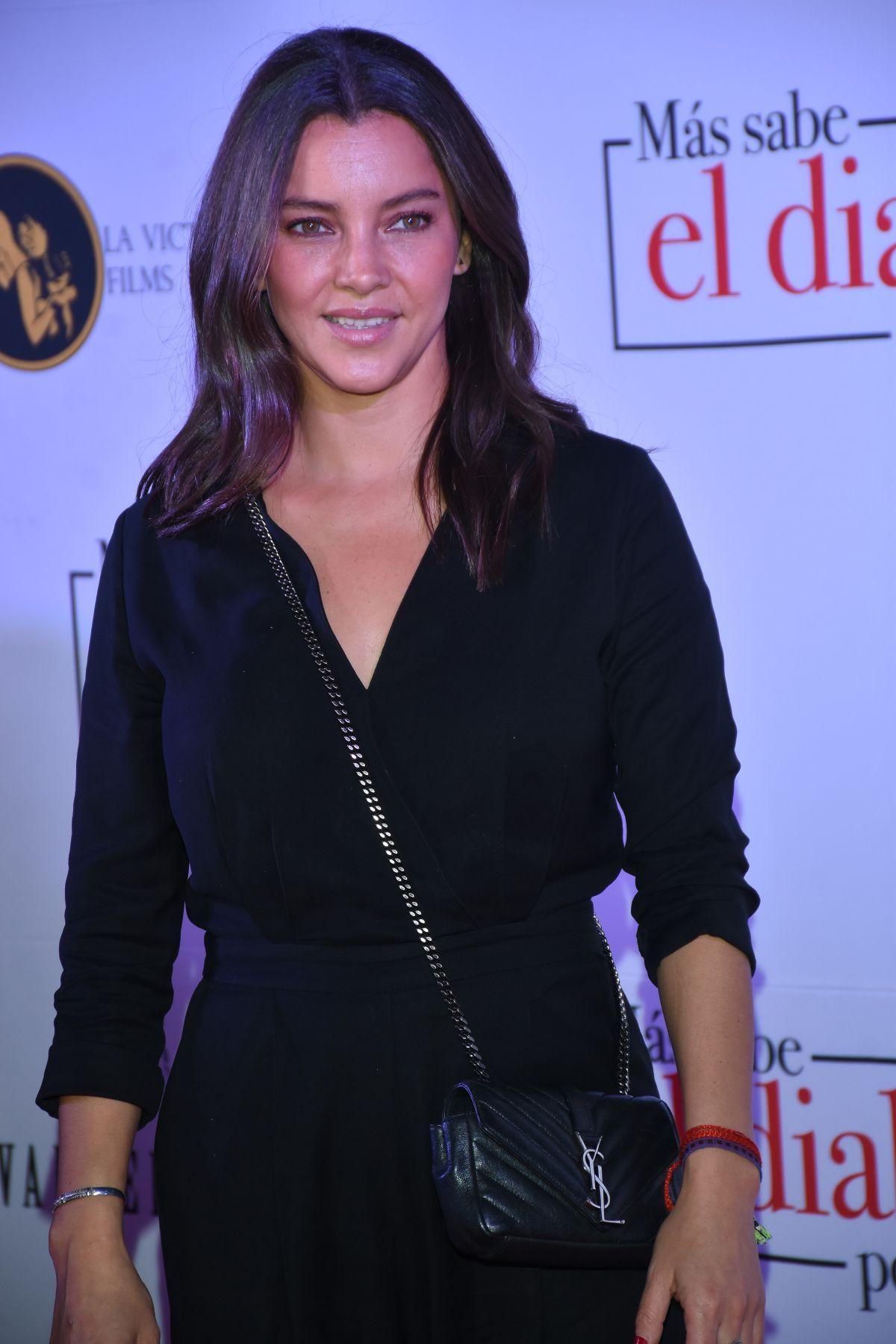 SARA MALDONADO at Mas Sabe El Diablo Por Viejo Premiere in
