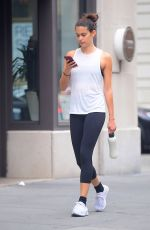 SARA SAMPAIO Out in New York 07/15/2018