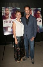 SARA WYLE at Broken Star Premiere in Hollywood 07/18/2018
