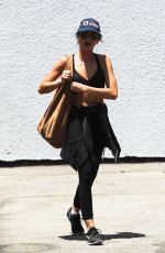 SARAH HYLAND Arrives at a Gym in Los Angeles 07/11/2018