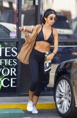 SARAH HYLAND Leaves a Gym in Los Angeles 07/25/2018