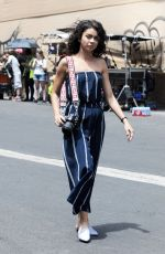 SARAH HYLAND on the Set of Final Scene for The Wedding Year in Los Angeles 07/10/2018