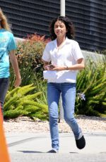 SARAH HYLAND on the Set of The Wedding Year in Los Angeles 07/02/2018