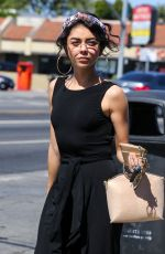 SARAH HYLAND Out and About in Hollywood 06/30/2018