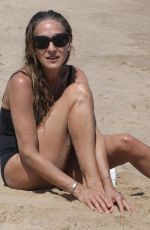 SARAH JESSICA PARKER in Swimsuit at a Beach in Montauk 06/30/2018