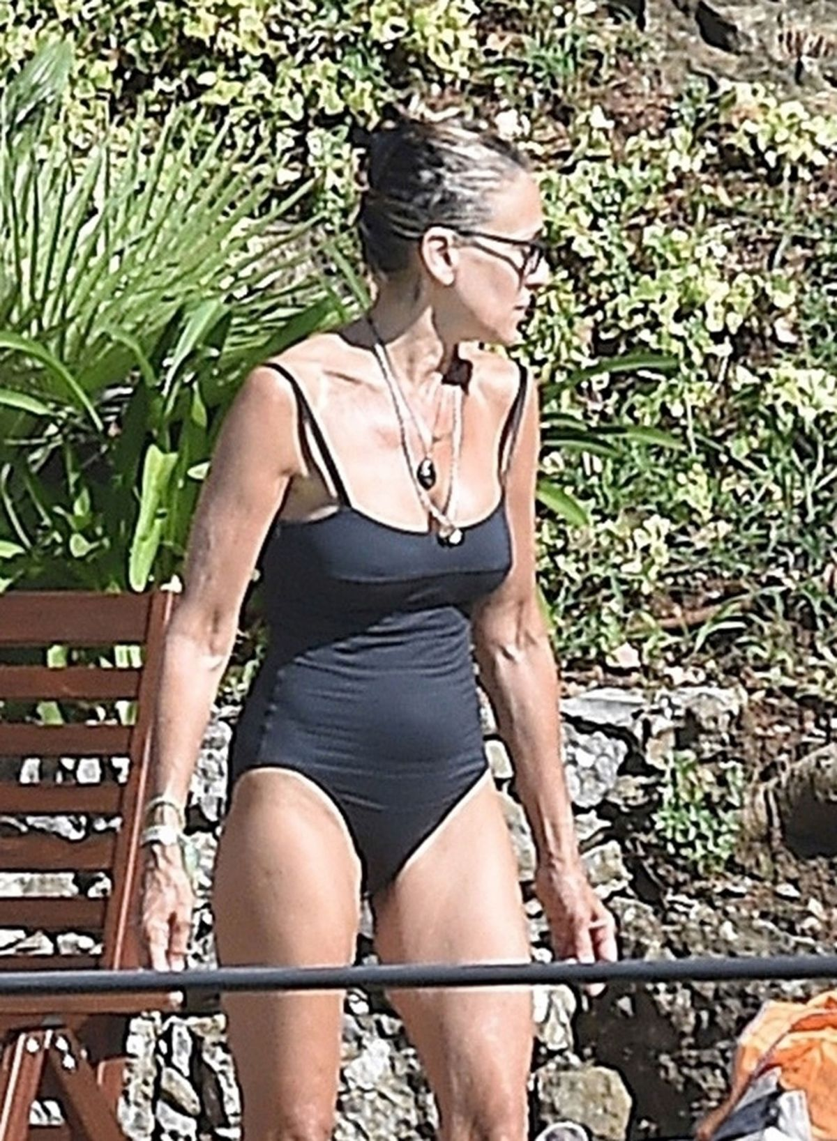 Portofino In Sarah At Parker Jessica A Beach 07172018 Swimsuit bf7gYy6