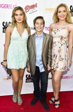 SAXON SHARBINO at Sage Launch Party Co-hosted by Tiger Beat at El Rey Theatre in Los Angeles 07/14/2018