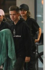 SELENA GOMEZ and Caleb Stevens Night Out in Los Angeles 07/27/2018
