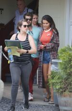 SELENA GOMEZ on the Set of The Dead Don