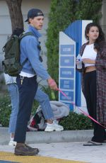 SELENA GOMEZ, VANESSA HUDGENS and  Austin Butler Out in Los Angeles 07/13/2018