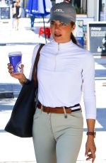 SELMA BLAIR in Riding Gear Out in Los Angeles 07/05/2018