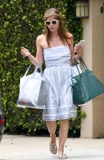 SELMA BLAIR Shopping at Johnny Was in Los Angeles 07/10/2018