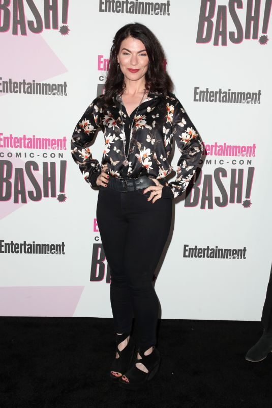 SERA GAMBLE at Entertainment Weekly Party at Comic-con in San Diego 07/21/2018