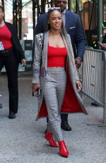 SERAYAH MCNEILL at AOL Build Series in New York 07/09/2018
