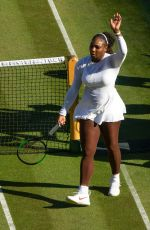SERENA WILLIAMS at Wimbledon Tennis Championships in London 07/02/2018