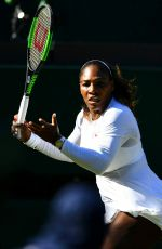 SERENA WILLIAMS at Wimbledon Tennis Championships in London 07/02/2018