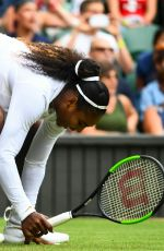 SERENA WILLIAMS at Wimbledon Tennis Championships in London 07/03/2018