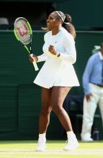 SERENA WILLIAMS at Wimbledon Tennis Championships in London 07/10/2018