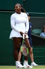 SERENA WILLIAMS at Wimbledon Tennis Championships in London 07/12/2018