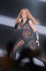 SHAKIRA Performs El Dorado World Tour at Wizink Center in Madrid 07/03/2018