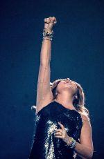 SHANIA TWAIN Performs at Bridgestone Arena in Nashville 07/21/2018
