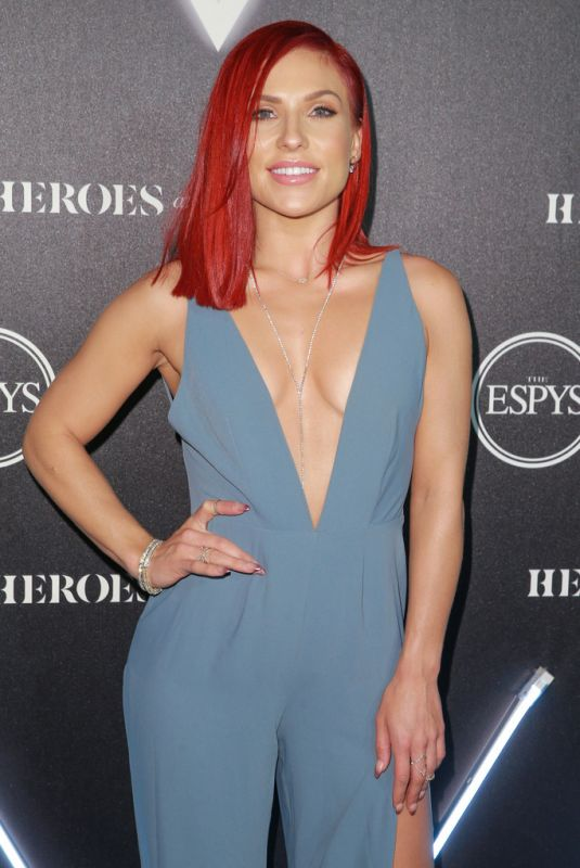 SHARNA BURGESS at Heroes at the Espys Pre-party in Los Angeles 07/17/2018
