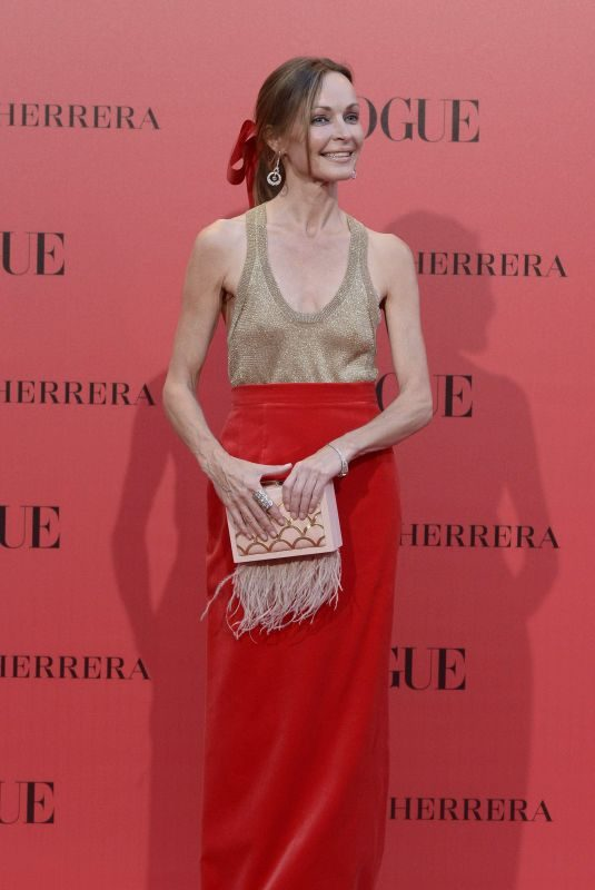 SHARON CORR at Vogue Spain 30th Anniversary Party in Madrid 07/12/2018