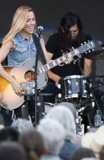 SHERYL CROW Performs at a Concert in Calgary 07/11/2018