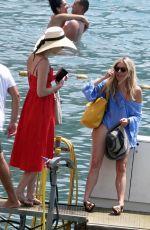 SIENNA MILLER on Vacation in Positano 06/30/2018