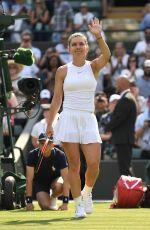 SIMONA HALEP at Wimbledon Tennis Championships in London 07/05/2018