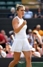 SIMONA HALEP at Wimbledon Tennis Championships in London 07/05/2018